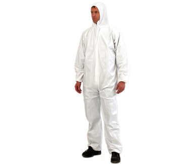 Provek Disposable Coveralls White