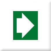 Directional Arrow Green