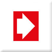 Directional Arrow Red