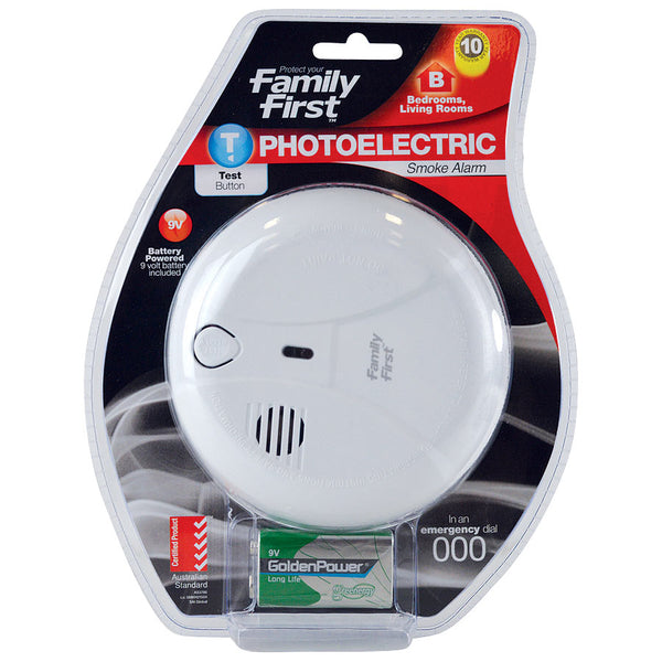 Photoelectric 9V Smoke Alarm