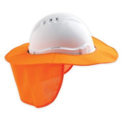 Detachable Hard Hat Sun Brim
