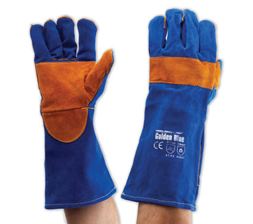 PROCHOICE Blue and Gold Kevlar Gloves