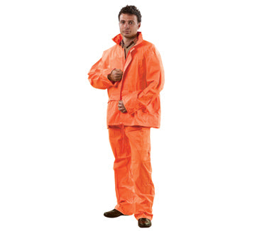 High Vis Rain Suit - Jacket & Pant Suit