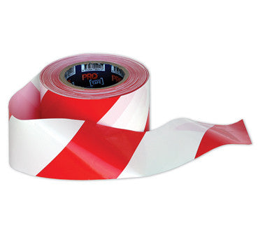 Barricade Tape - White / Red