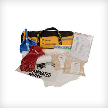 15L Oil & Fuel Spill Kit - Portable Bag