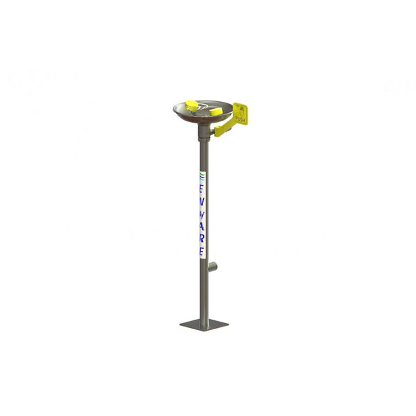 Eyewash Face Pedestal Mounted - Hand Operated