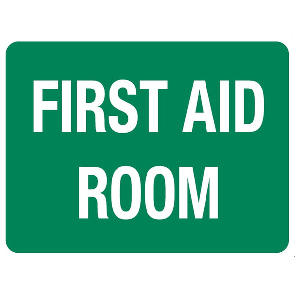 First Aid Room Location Sign