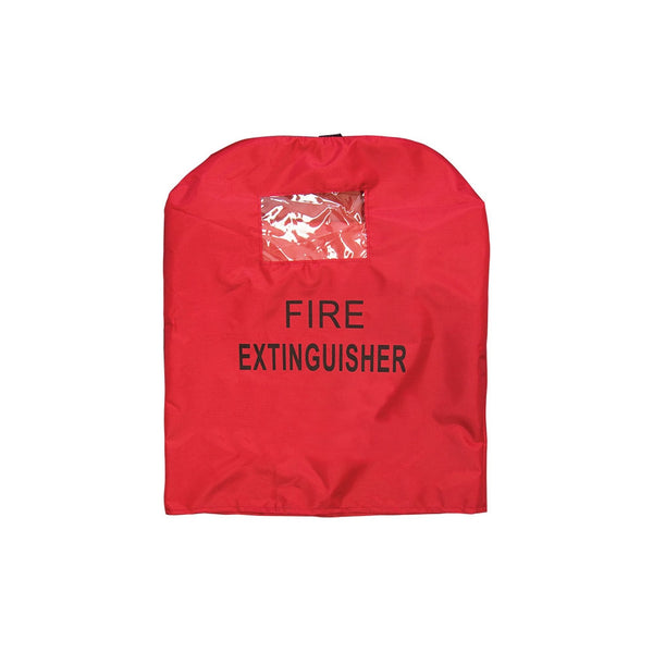 Clear Window Vinyl Extinguisher Cover