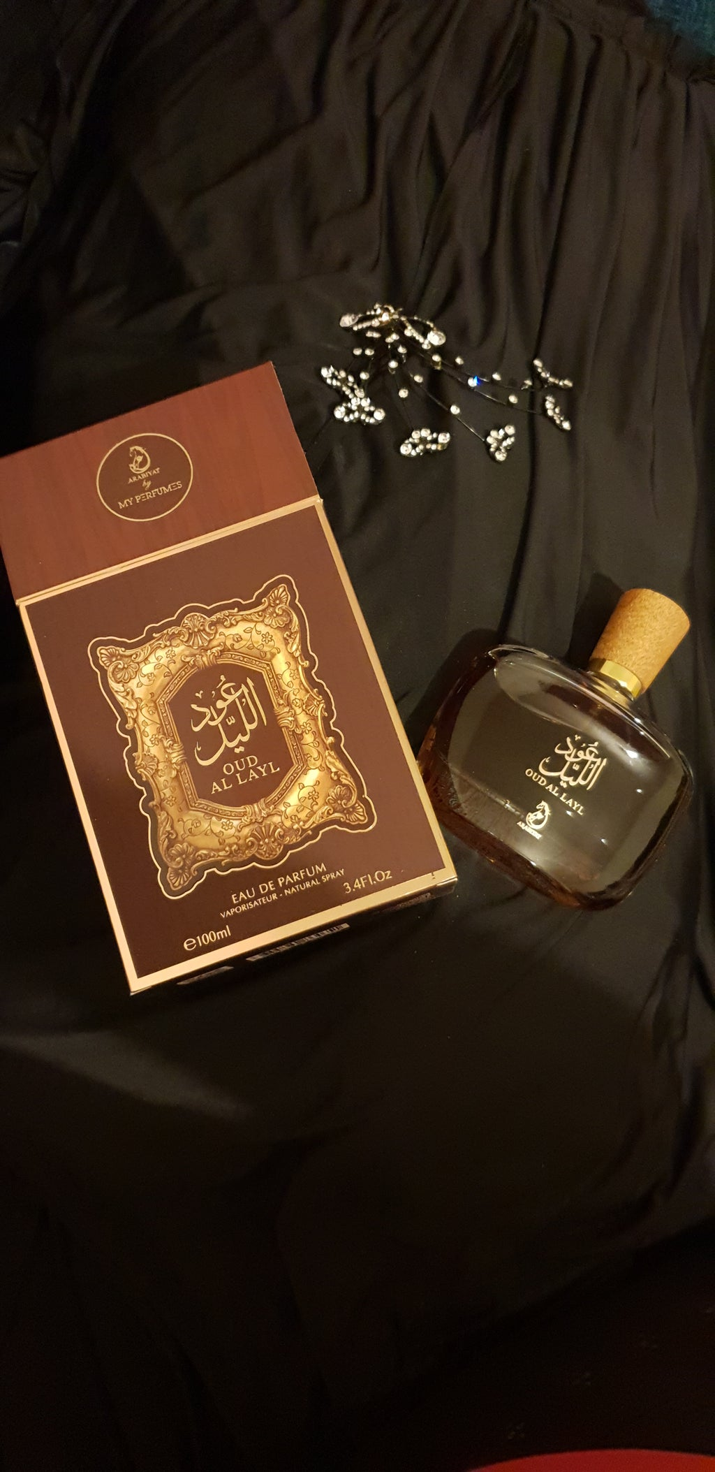 OUD AL LAYL PERFUME SPRAY BY ARABIYAT