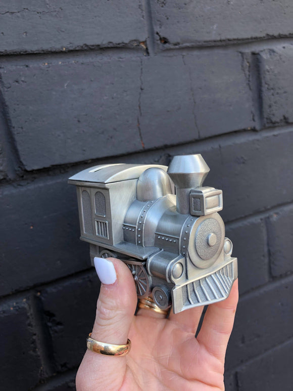 Small Train Money Box