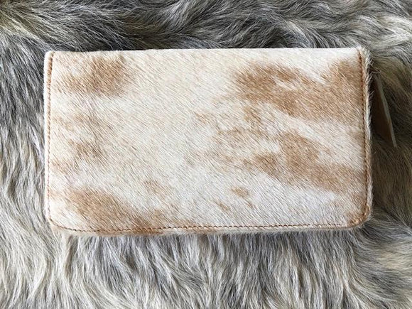 MOO WALLET TAN - BARE LEATHER