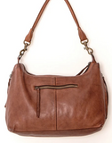 JUJU & CO - Small leather slouchy