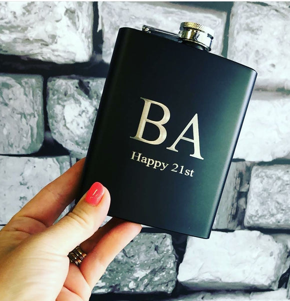 HIP FLASK - BLACK