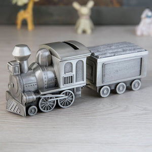 Train and Carriage Money and Trinket Box