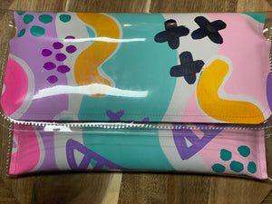 Poppy Lane Hand Painted Clutch Extra Large