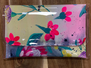 Poppy Lane Hand Painted Clutch Medium