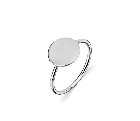 Sterling Silver Pinky Signet Ring