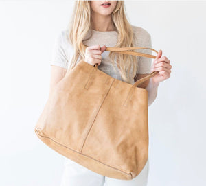 JUJU & CO Unlined Tote - Natural