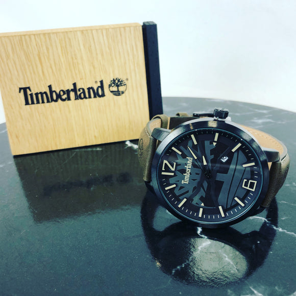 Timberland Leather Watch