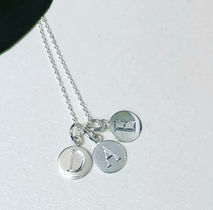 Triple Pendant Necklace