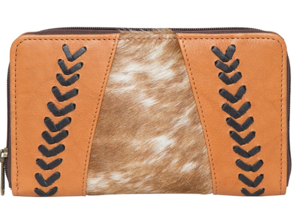 Albania- clutch cowhide wallet