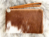 BARE LEATHER - MANNY SMALL CLUTCH