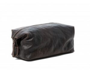 CHRISTOPHER TOILETRIES BAG RUGGED HIDE