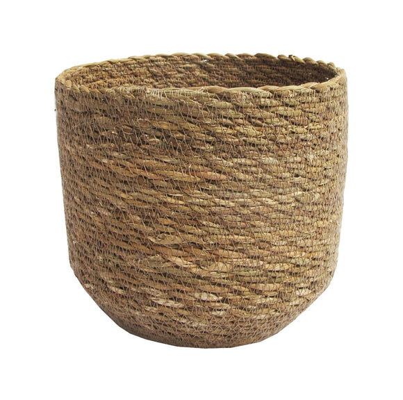 Stitch Planter Natural Sm 16cm
