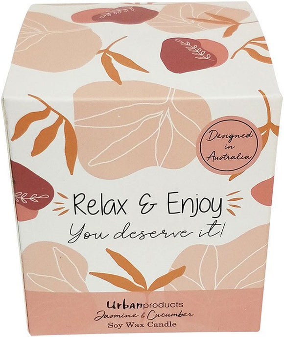 Relax Enjoy Botanic Boxed Soy Candle P