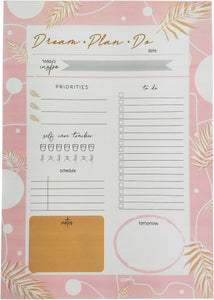 Dream Plan Do Planner Pink