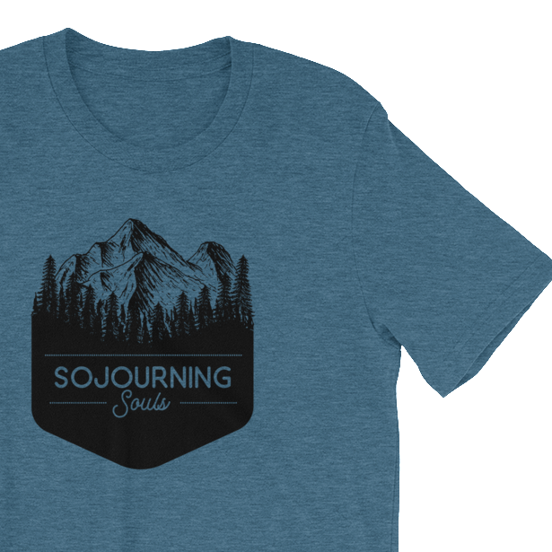 Sojourning Souls Mountain Tee