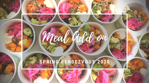 Rooted in Adventure Spring Rendezvous: Meal ticket add on