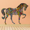 Colorful Horse Wall Decal