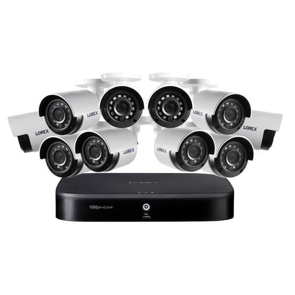 16-Channel DVR Security System with Night Vision Security Cameras