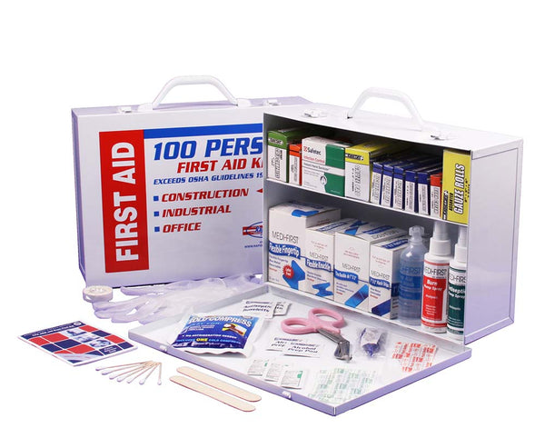 2-Shelf First Aid Cabinet