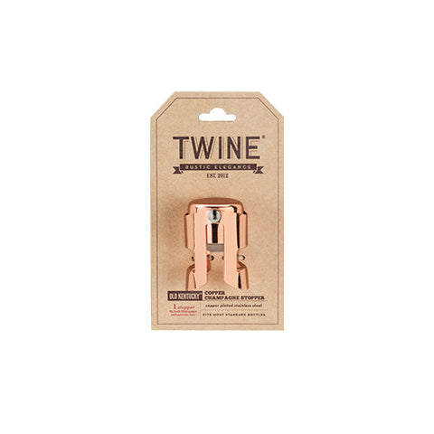 Old Kentucky Homeª: Copper Champagne Stopper by Twine