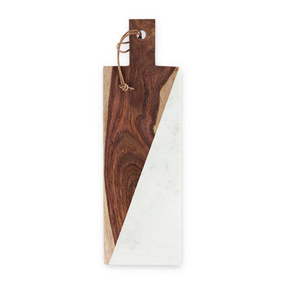 Warren Marble and Indian Rosewood Cheese Board by Viski