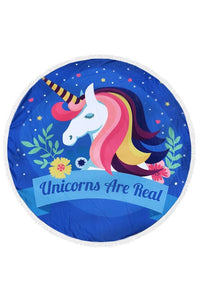 Unicorns Are Real Towel