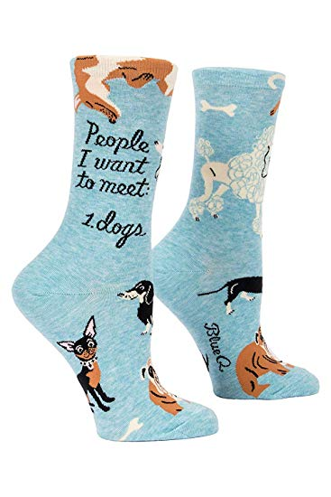 People I Want To Meet: 1. Dogs - Socks