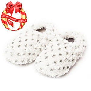 Snowy Warmies Slippers
