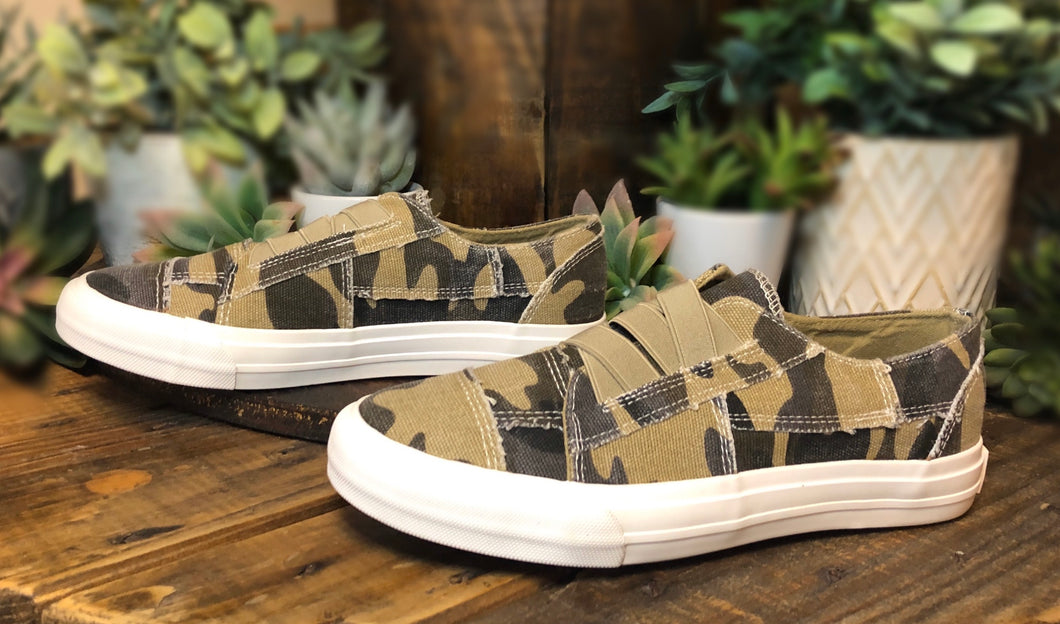 Slip-On Sneakers: Camo