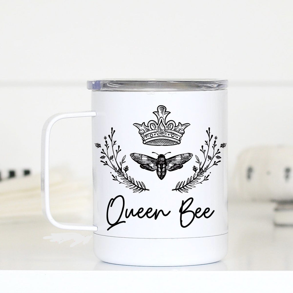 """Queen Bee"" Travel Mug"