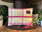 Sweet Plaid - Makeup Junkie Bag