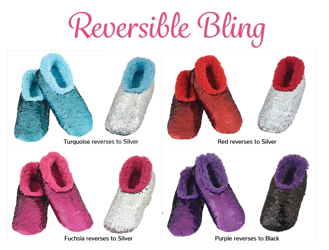 Reversible Bling Snoozie