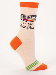 """Ringmaster of the sh** show"" Socks"