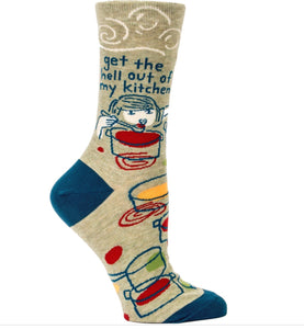 Get the hell out of my kitchen- Socks