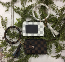 Load image into Gallery viewer, Keychain/Wallet Combo
