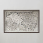 Leve Como Uma Penna Portuguese Advertisement Poster 20th C.