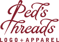 Ped's Threads Logo + Apparel