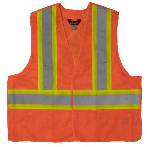 5-Point Tearaway Safety Vest S9i0